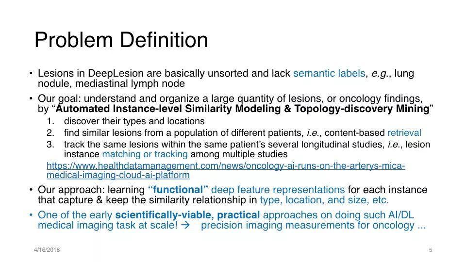 AI医疗开创性研究:深度学习进行病变检索和匹配(31 PPT)
