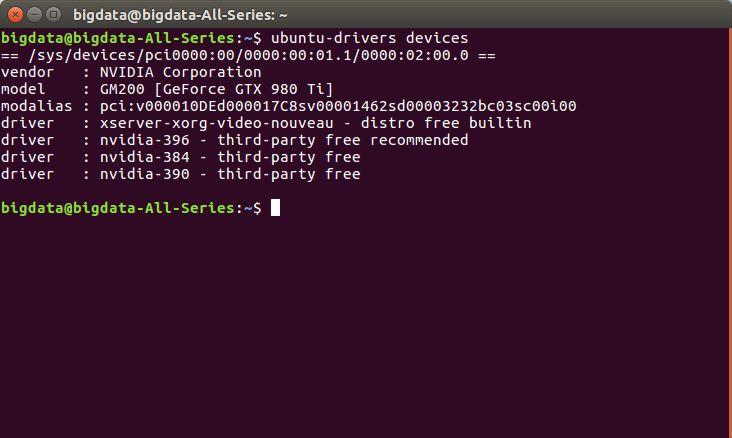 Ubuntu 安装 tensorflow-gpu 1.4 +CUDA 8.0 +cuDNN详细教程