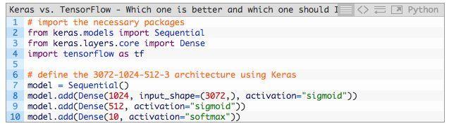 Keras还是TensorFlow?深度学习框架选型实操分享