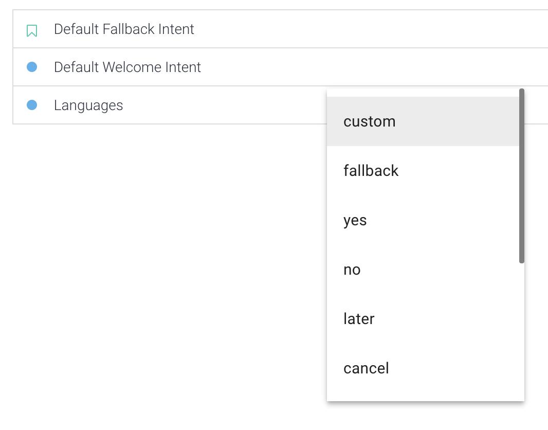 构建一个简单的 Google Dialogflow 聊天机器人【下】
