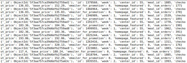 使用PyMongo查询MongoDB数据库!