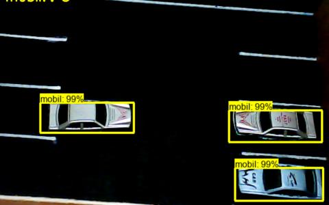 基于TensorFlow的停车区车辆计数(样机)