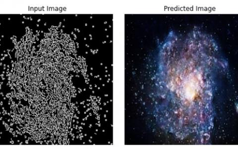 使用GAN创建银河图像